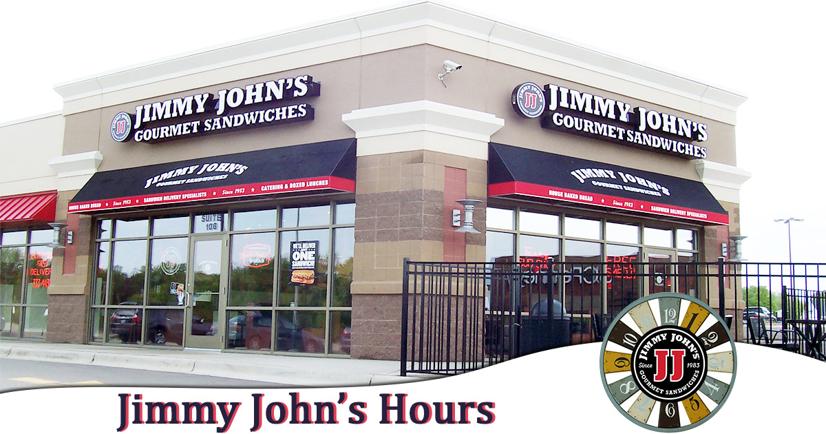 Jimmy Johns Hours