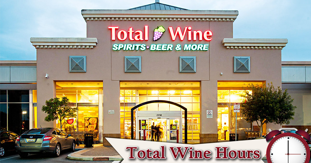 Total Wine Hours