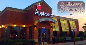 Applebees Hours