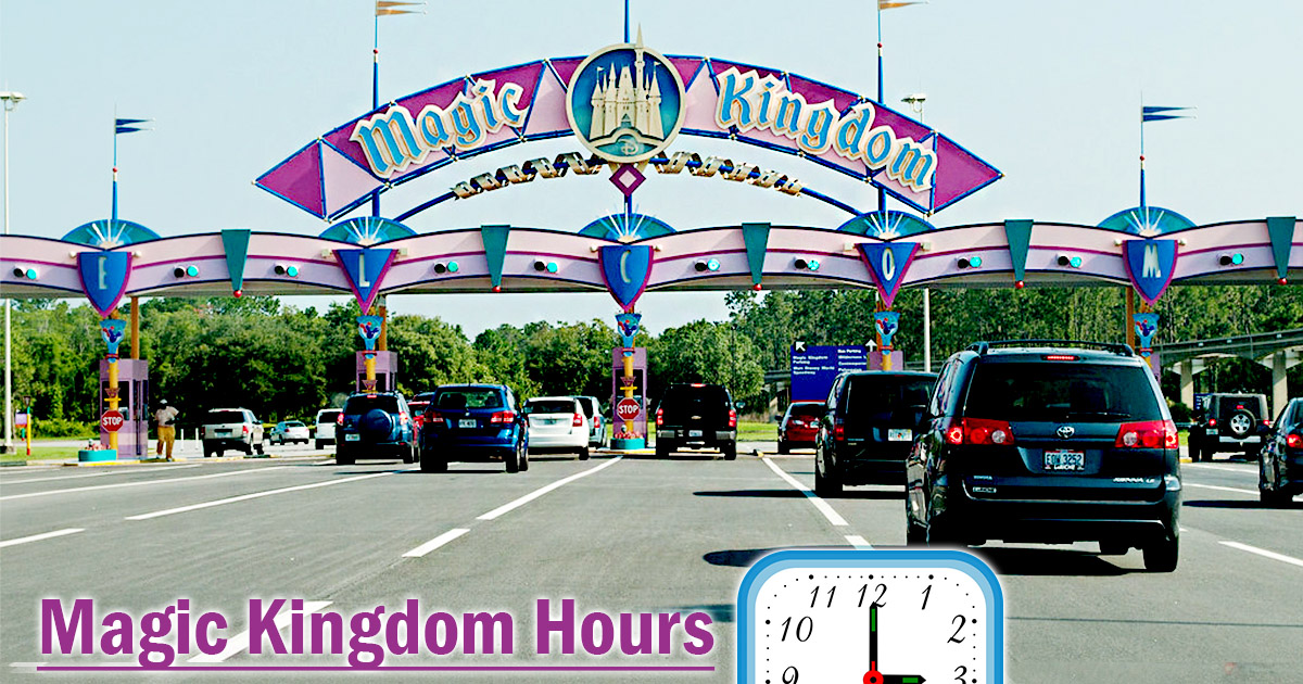 Magic Kingdom Hours