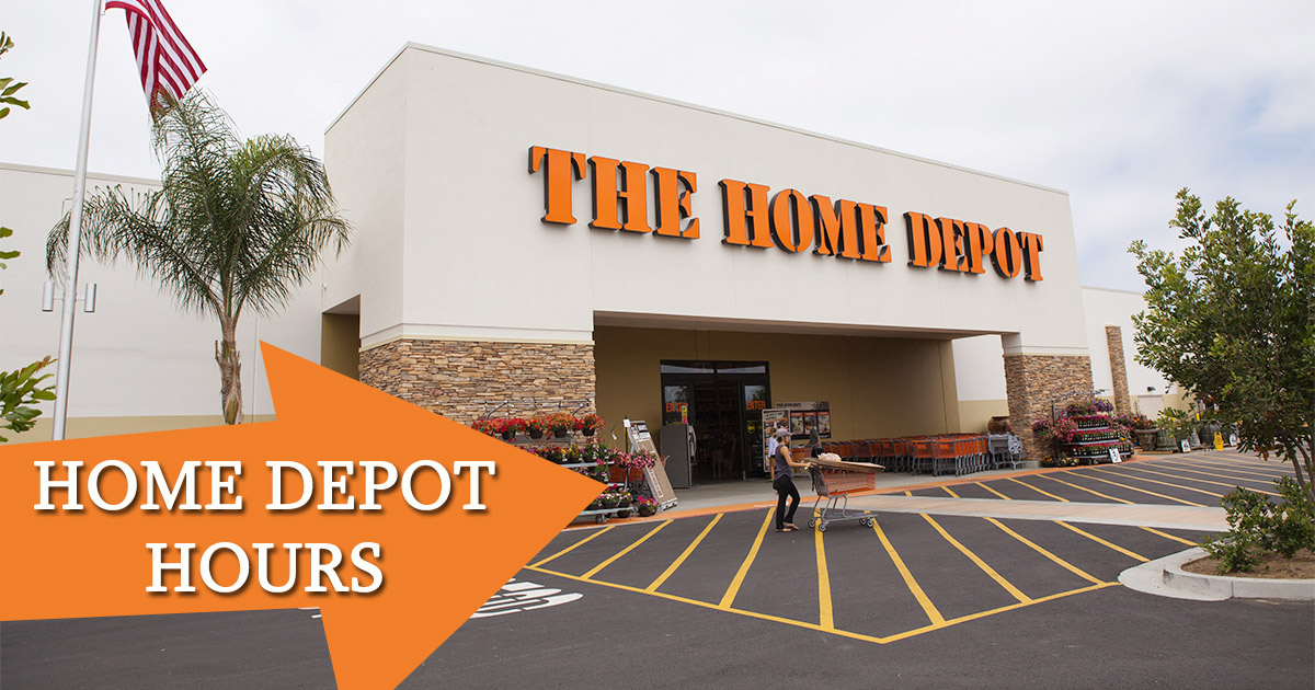 Home Depot Hours Image
