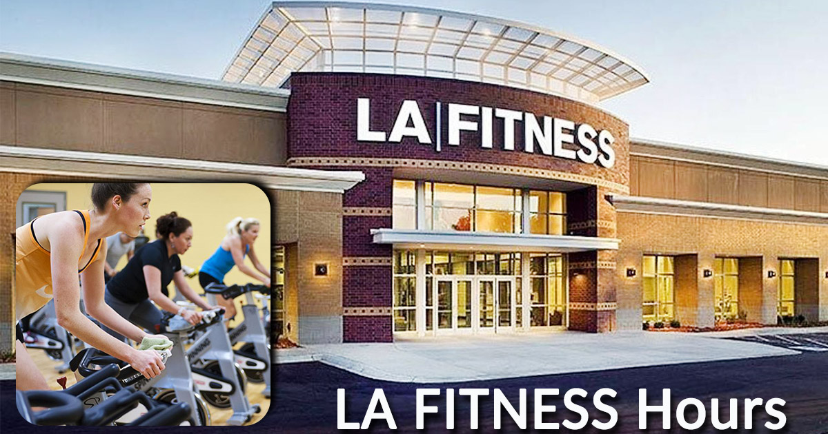 LA Fitness Hours Image