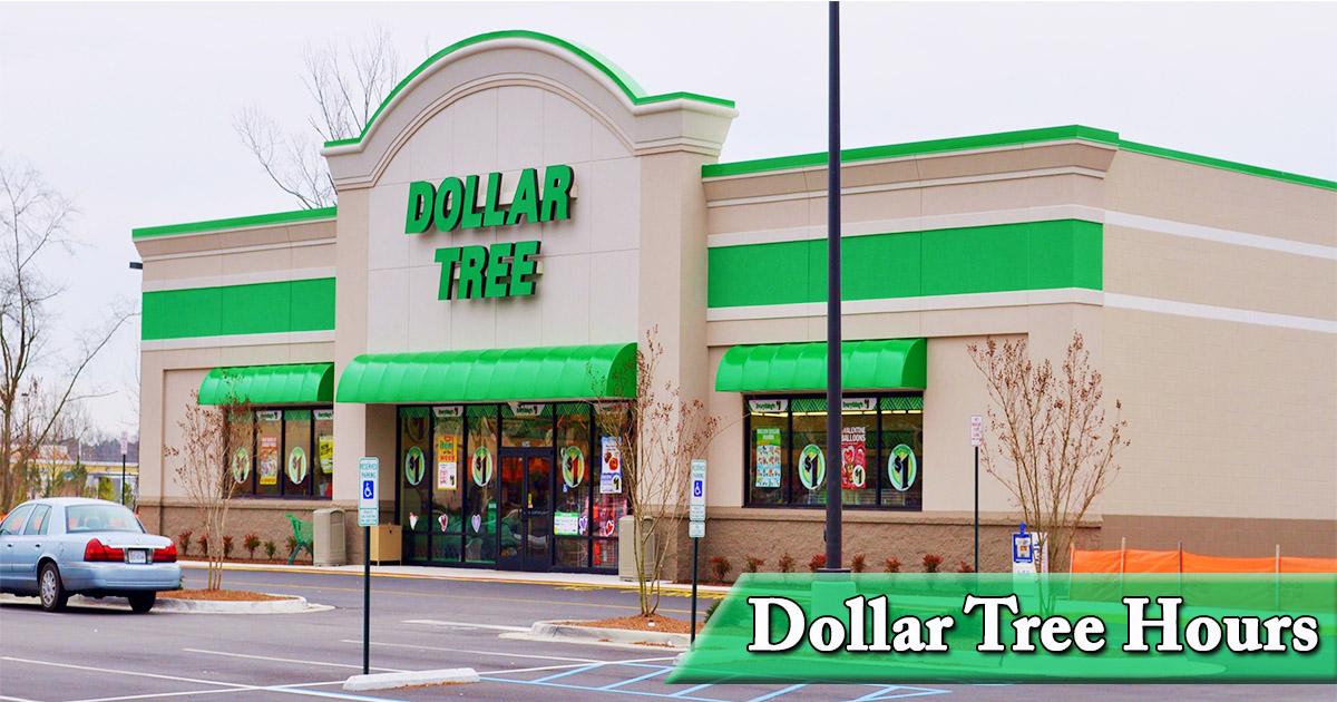 Dollar Tree Hours Image