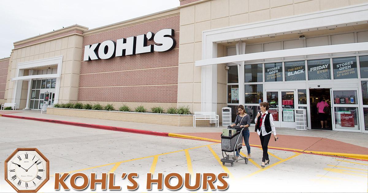 Kohls Hours Image