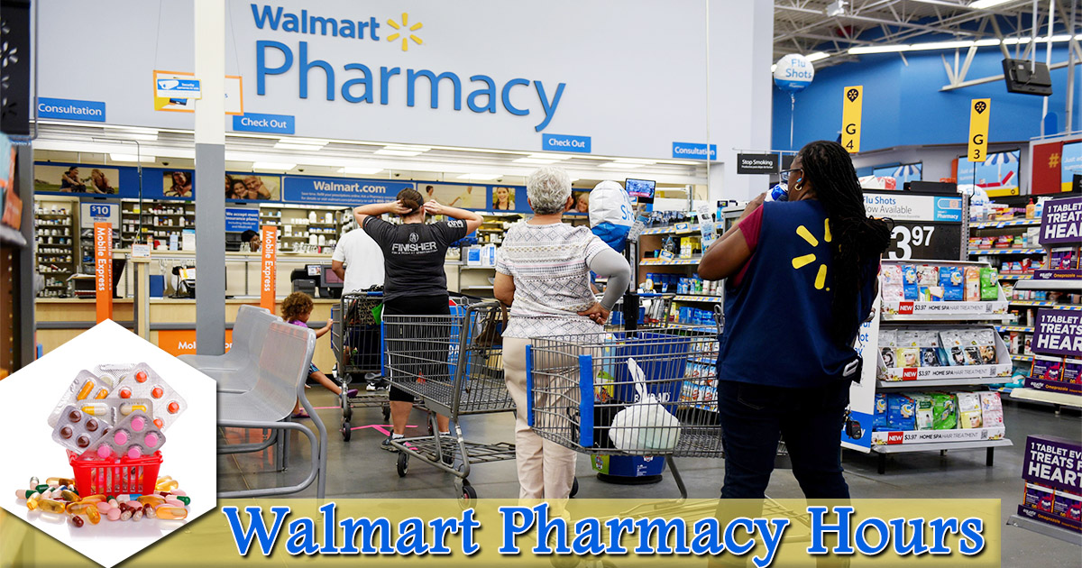Walmart Pharmacy Hours Image