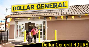 Dollar General Hours image