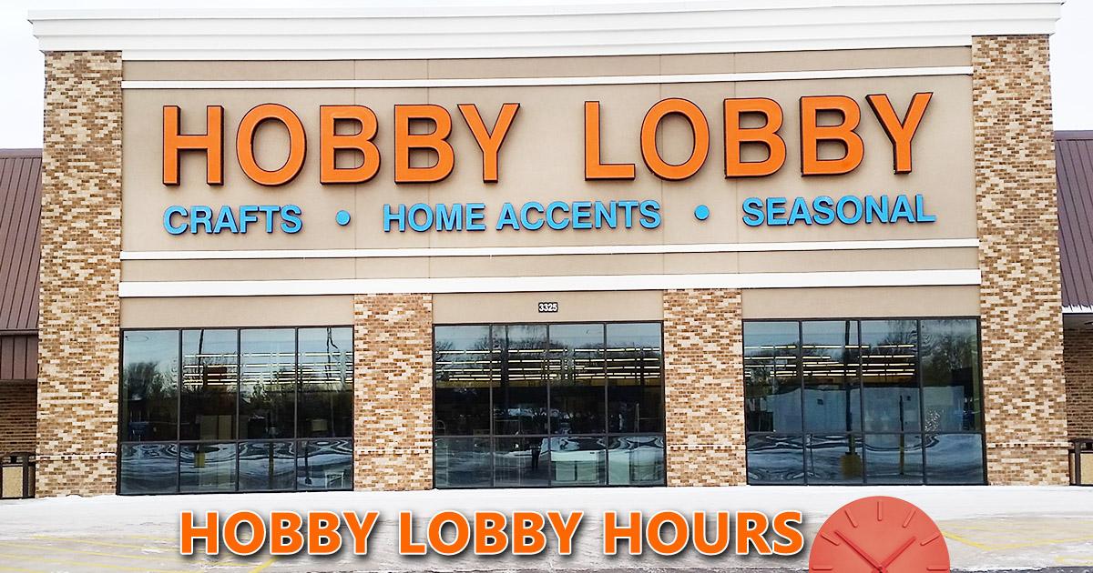 Hobby Lobby Hours Image